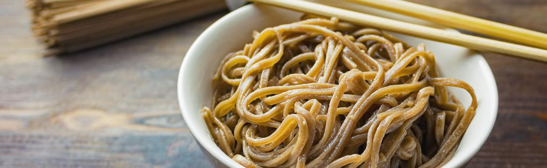 Hledáte bezlepkovou alternativu těstovin? Zkuste tradiční japonské soba nudle