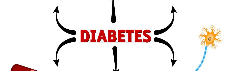 Vedlejší zdravotní účinky záludného onemocnění jménem cukrovka