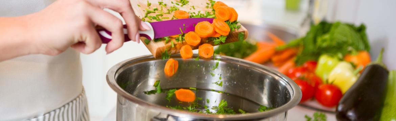 Jak při vaření zachovat co nejvíce vitamínů a minerálních látek?