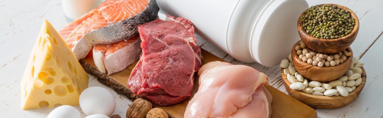Strava a bílkoviny: Jak poznáte, že vám bílkoviny ve stravě chybí?