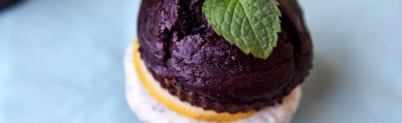 Čokoládový dortík s mátovým krémem