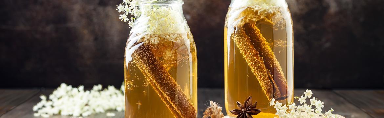 Kombucha a vodní kefír: Fermentované nápoje, které prospívají našim střevům