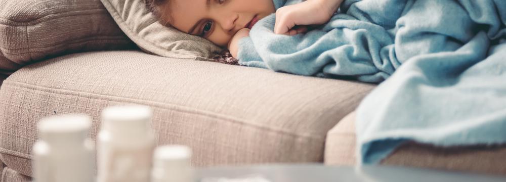 Jak rozpoznat u dětí nachlazení od chřipky či angíny?
