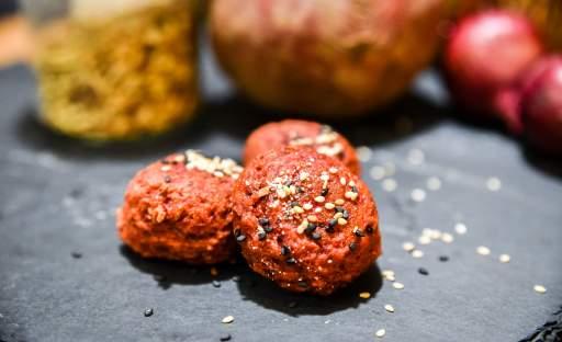 Falafel z červené řepy