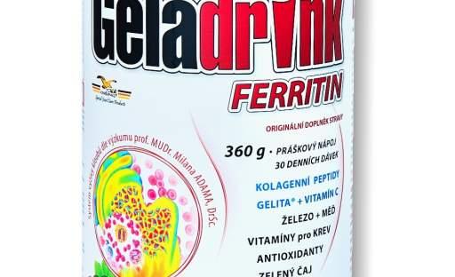 Geladrink Ferritin: Pomoc v boji s jarní apatií!