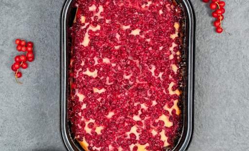 Rybízový koláč s kefírem