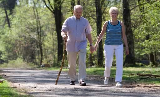 Trénujte i jako senior, zařaďte chůzi a rotoped