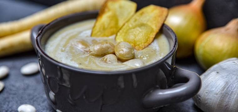 Kyselá fazolová polévka