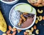 Banánové smoothie bowl